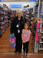 Photo of Debbie P. Shop with cop at Walmart
