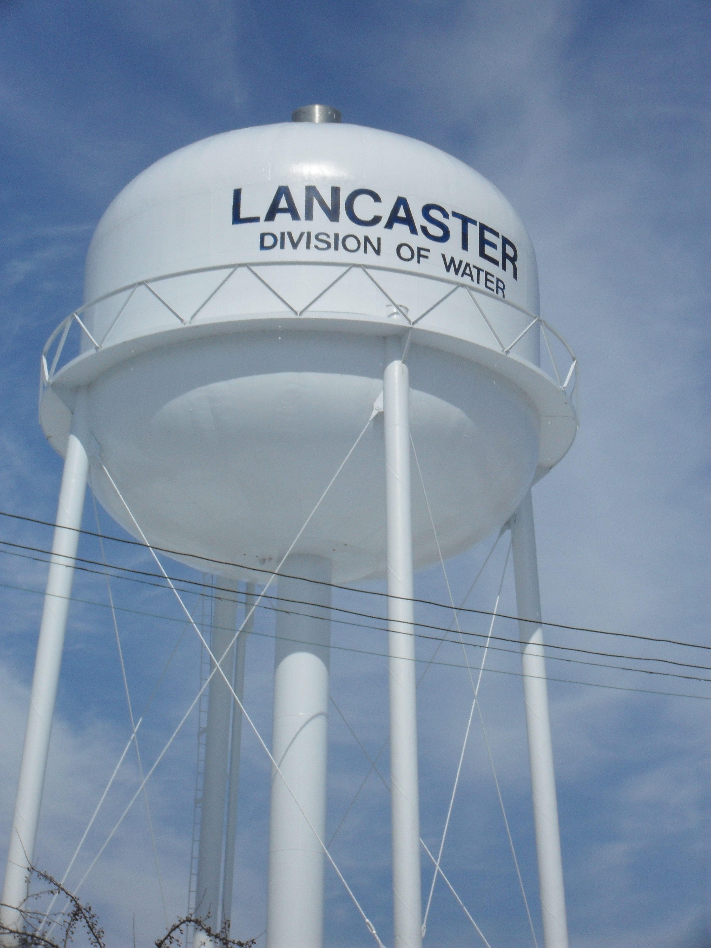 Water Tower Close Up