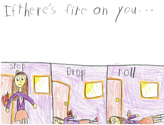 2014 Fire Safety Poster Contest Winner