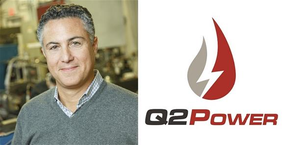Christopher Nelson, CEO of Q2Power & logo