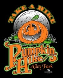 Take a Hike - Pumpkin Hike Logo